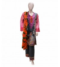 Women Full Stitched Lawn Suits