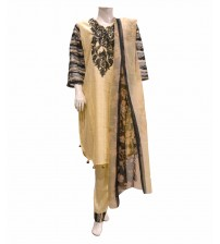 Stitched Lawn Suit Neck Embroidered