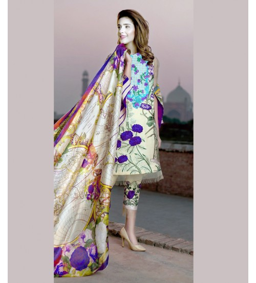 Lawn Collection Printed & Embroidered
