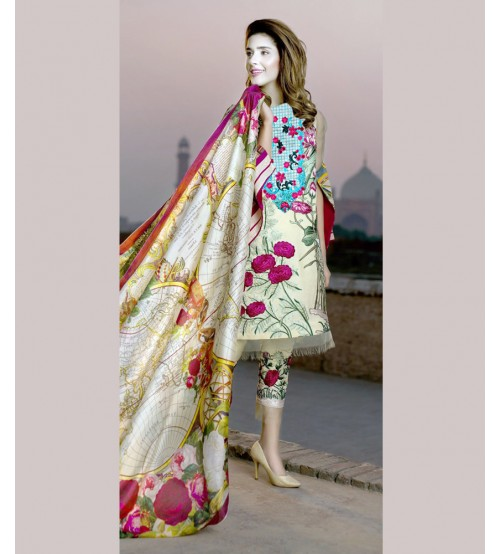 Summer Collection Lawn Suit For Women