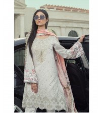Lawn Suit Neck  Daman Embroidered New Collection