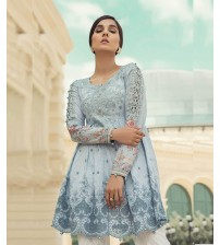 Lawn Suit Neck Daman Embroidered Spring Summer