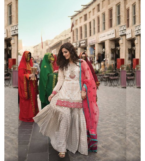 Lawn Dresses With Brosha Dupatta Trousers Printed