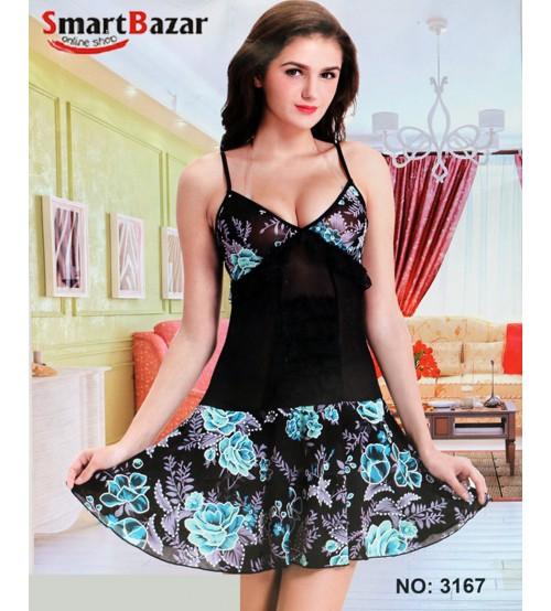 Baby Doll Nightwear For Ladies