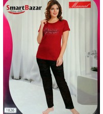 Beautiful T-Shirt Top And Tights Set 1826
