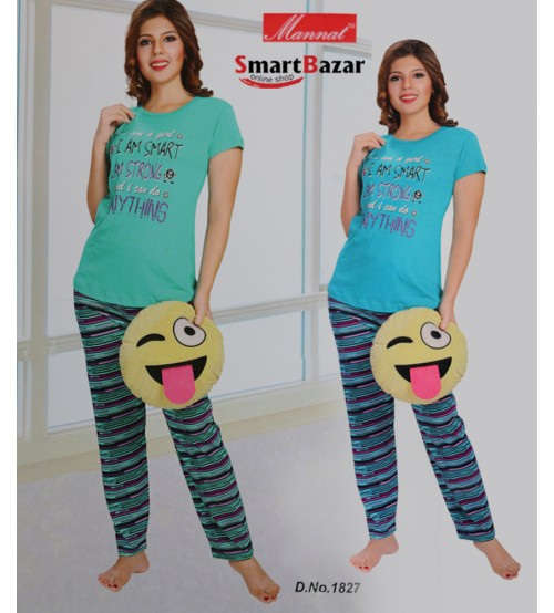 Comfort  T-Shirt Top And Tights Set 1827
