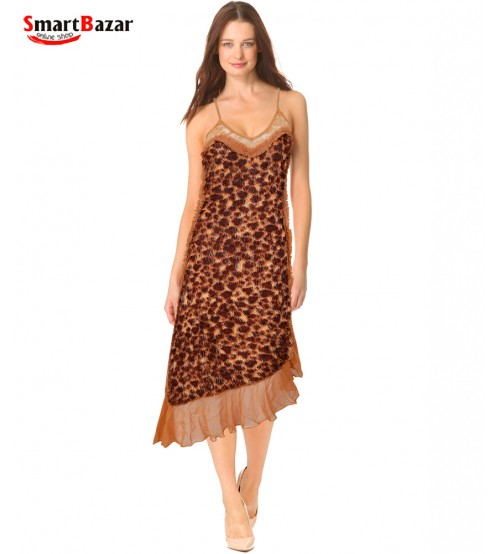 Cheetah print Nightgown for Women