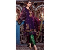 MB Linen Suit Khaddar With woolshal dupatta