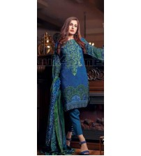 Khaddar With Jacquard Shawl Winter Collection