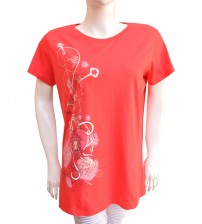 Cotton T-Shirts Short Sleeve For Women