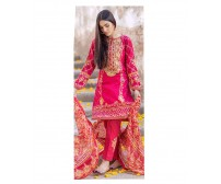 Master Replica Embroidered Suit By Alkaram
