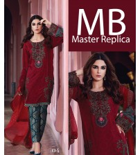 Master Replica embroidered Linen Dress