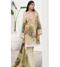 New Beautiful Design in Viscose with Bamber  Dupatta