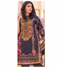 Beautiful Design Linen Dress By Alkaram