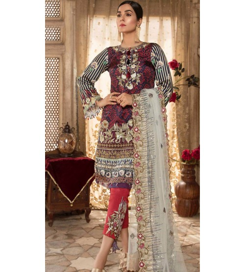 Khaddar Winter Unstitched Suit