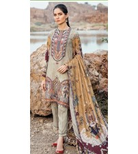 Newly Embroidered Khaddar Suit With Wool Shawl