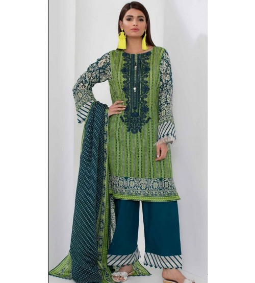 Embroidered Khaddar Suit Winter Collection