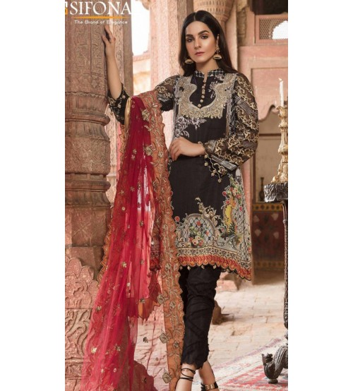 Maria B Design in Khaddar with Wool Shawl