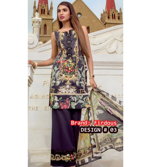 Women's Khaddar Suit With Wool Shawl  Winter Collection