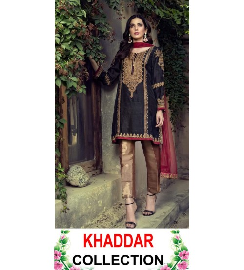 Khaddar with Wool Shawl
