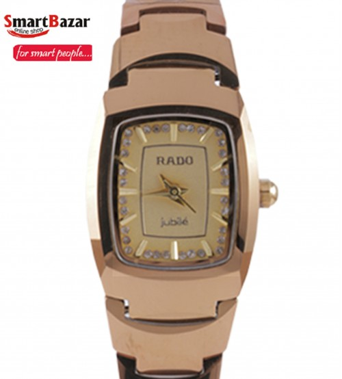 Rado Jubile Golden Watch For Women