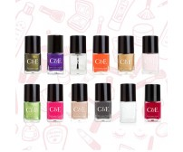 Golden Offer - Pack of 12 - Branded Nail Paints