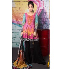 Beautiful Dasgined Maria B  Unstitched Suit Winter Collection