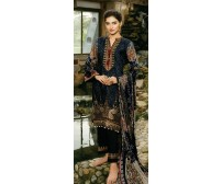 Embroidered Khaddar Three Pieces Suit