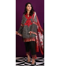 New Collection Khaddar Suit With Wool Shawl