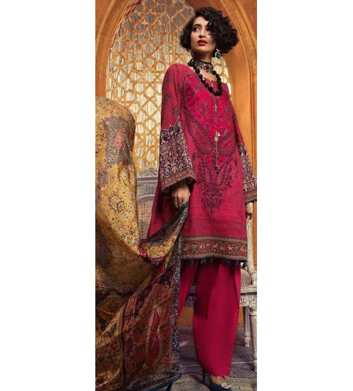 Khaddar Collection Maria B design For Women