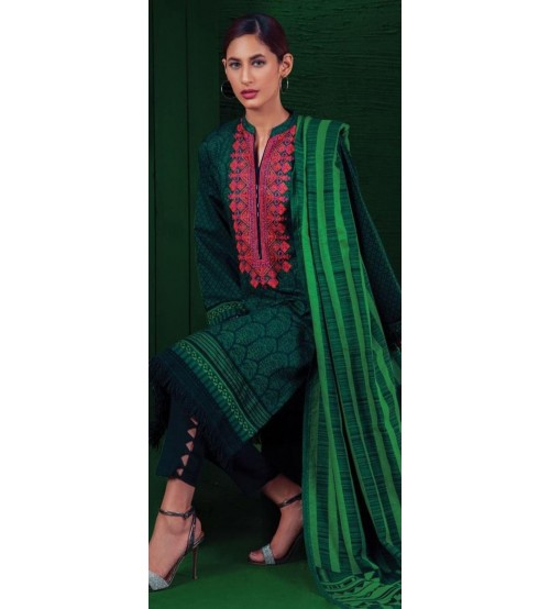 New Embroidered Khaddar Unstitched Suit