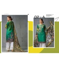 Linen Un-Stitched Suit for Womens Winter Collection.