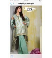 Fully Front Embroidered Suit With Cotton Net Dupataa 503-A