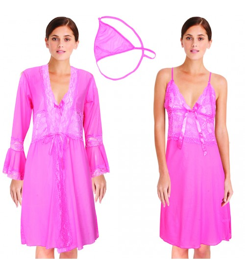 Beautiful Nighty Sleepwear Pink