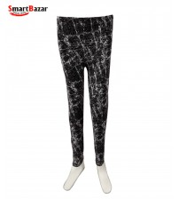 Causal Wear Tights For Girls Black