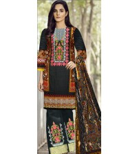 Beautiful Embroidered Suit with Palchi Dupatta
