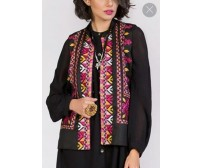 Waistcoat Women Hand Made Embroidered