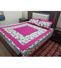 Luxury Collection Bedsheet With 3-Pieces