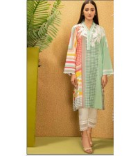 2 Piece Lawn Suits With Shirt And Trouser