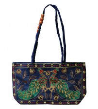 Fashion Handbag Women Embroidered Multi color