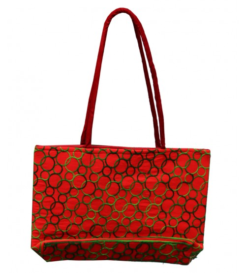 Red colour Hand Bag For Women