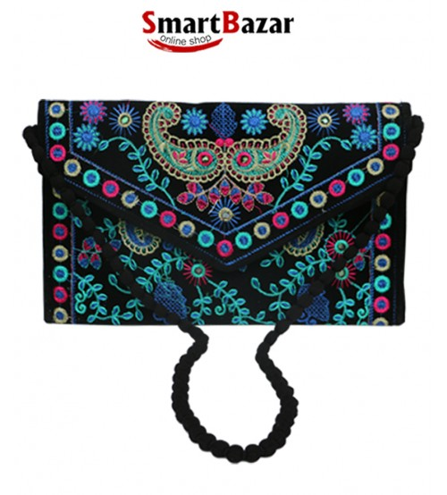Purely Hand Made Sindhi Culture Women Hand Bag