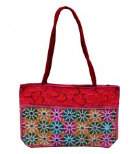 Embroider Multi Colour bag For Girls