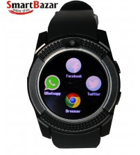 Ten Fifteen Rx9 Smart Watch With Camera Black.