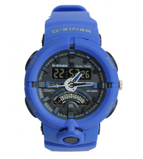 Blue Trendy Watch For Men