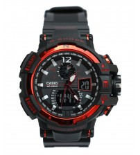 Red Attractive Analog Watch For Men