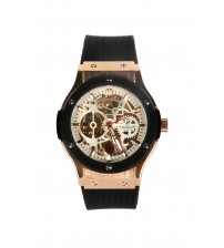 Skeleton Analog Wrist Watch for Men
