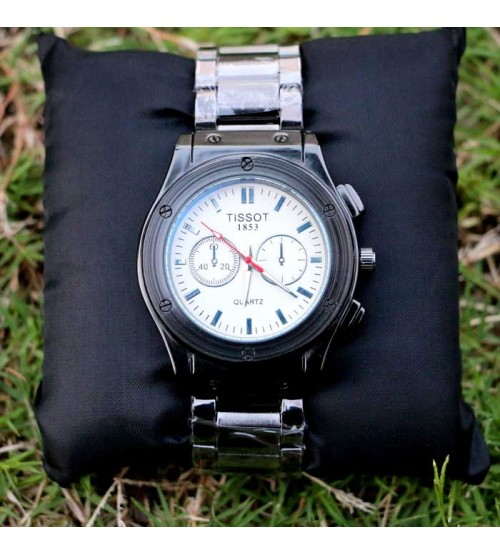 Tissot Watch with Staleness steal Strap