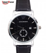 Emporio Armani Leather Band