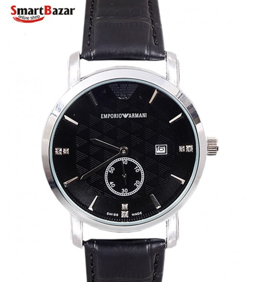 Leather Band Watches for Men